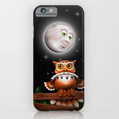 Surreal Owl and Moon iPhone 6 Slim Case