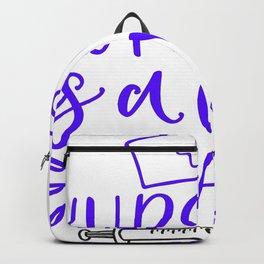 Nursing Is A Work Of Art - Nurse Design Backpack