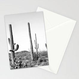 Grey Cactus Land Stationery Cards