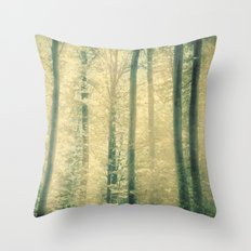 into the woods 16 Throw Pillow