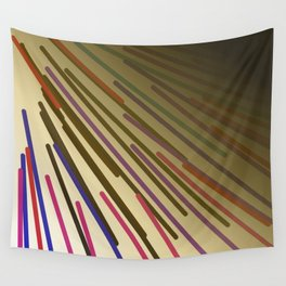 wild design lines  Rainbow edition Wall Tapestry