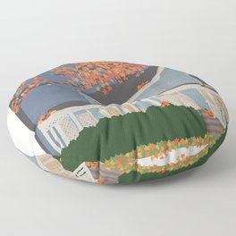 Autumn - Gilmore Girls Floor Pillow