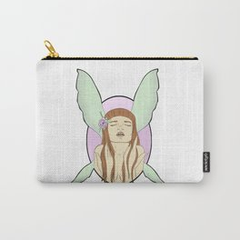 Flower Fae Carry-All Pouch
