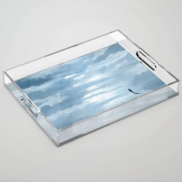 Rise Above Acrylic Tray