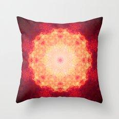 Fire Galaxy Throw Pillow