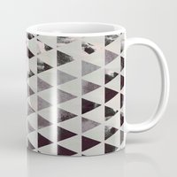 triangles Mugs featuring triangles. by Georgiana Paraschiv
