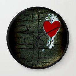 Love Malfunction Wall Clock