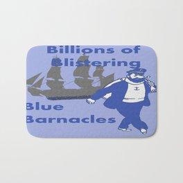 Blue Barnacles Bath Mat