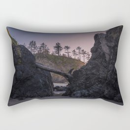 Secret Tide Pool Entrance Rectangular Pillow