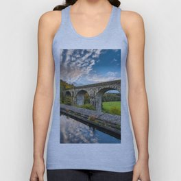 Chirk Aqueduct And Viaduct Unisex Tank Top