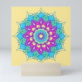 Bright and Beautiful Mandala Mini Art Print