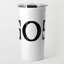 GOD - Ambigram series Travel Mug