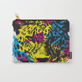 COLORED LEOPARD Carry-All Pouch