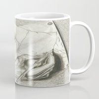 escher Mugs featuring Drawing Hands, MC Escher by Chessirose