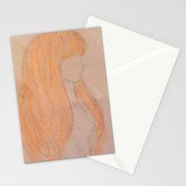 Shadow couple Stationery Cards