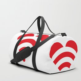 LOVE is all around Duffle Bag