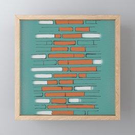 Brick By Orange Brick Framed Mini Art Print
