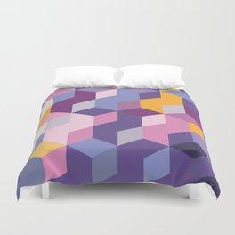 Violet Pattern Duvet Cover