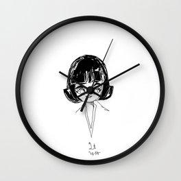 chibi naomi Wall Clock