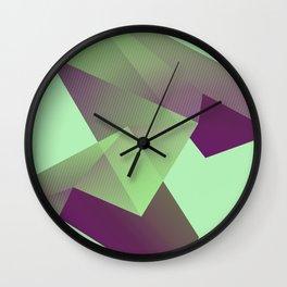 Oragami /Geometry Wall Clock