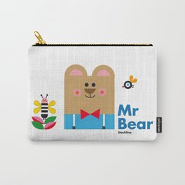 Mr Bear Carry-All Pouch