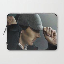 Sherlock and his deerstalker Laptop Sleeve