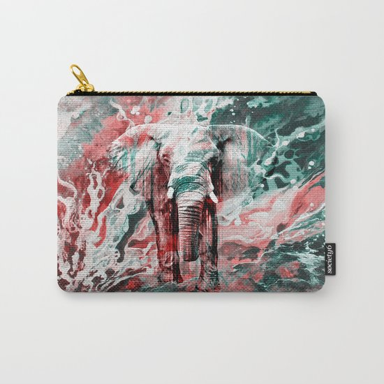 Elephant's Silent Cries  Carry-All Pouch