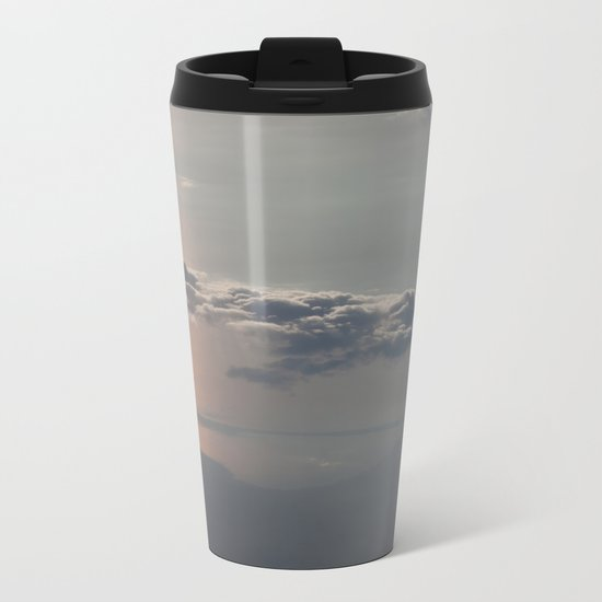 Sailing the Clouds Metal Travel Mug