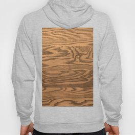 Wood 5, heavily grained wood Horizontal grain Hoody