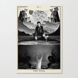 Fig. 0 - The Fool Canvas Print