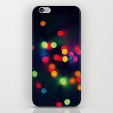 Lights of the Season iPhone & iPod Skin