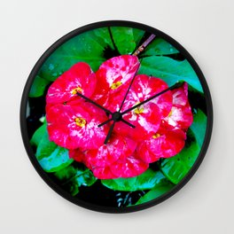 Flowers_109 Wall Clock