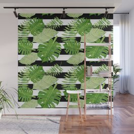 Tropical Leaf Mix III Wall Mural
