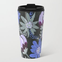 Midnight Blooms Travel Mug