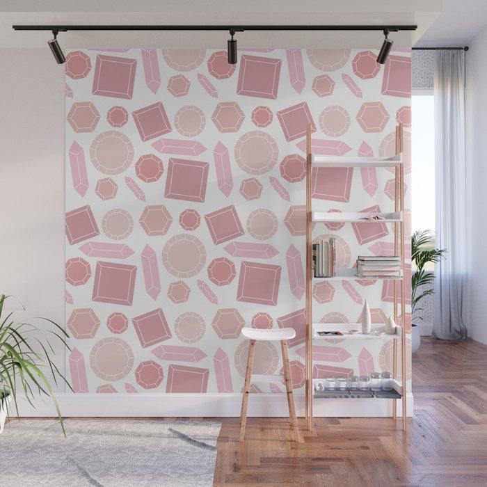 Glistening Gems Wall Mural