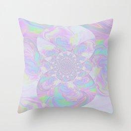 Pastel Kaleidoscope  Throw Pillow