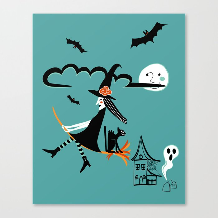 Halloween Party Canvas Print