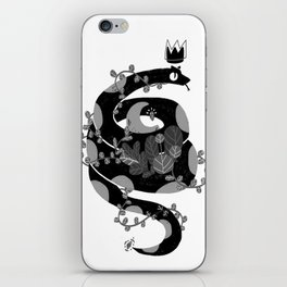 A witch companion iPhone Skin