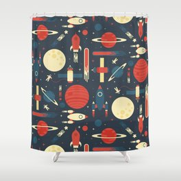 Space Odyssey Shower Curtain
