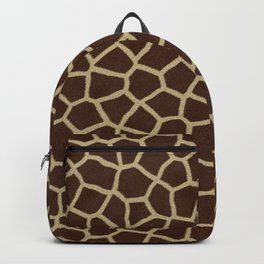 Giraffe Print Pattern Backpack