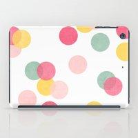 confetti iPad Cases featuring confetti by her art