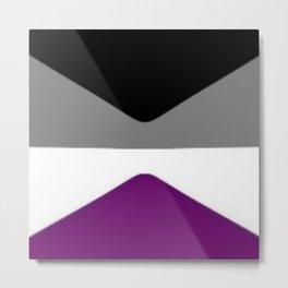 Asexual zoom Metal Print