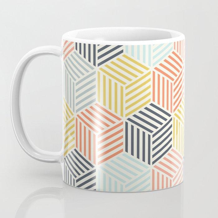 Colorful Geometric Pattern Coffee Mug