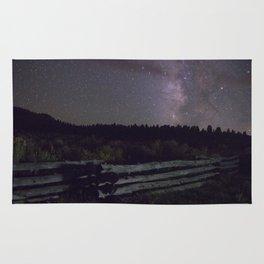 Glittered Night Rug