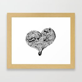Heartfull Framed Art Print