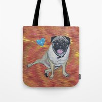 woody Tote Bags featuring Woody by gretzky