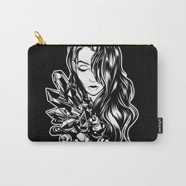 Dark Unicorn Girl Carry-All Pouch