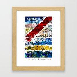 Superclásico  Framed Art Print