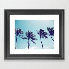Palm Trees Framed Art Print