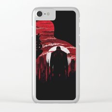 The Man Without Fear Clear iPhone Case